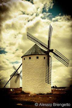Windmills #holland #windmill #travel Was told this was in Castilla La Mancha, Spain, not Holland. but its still cool.