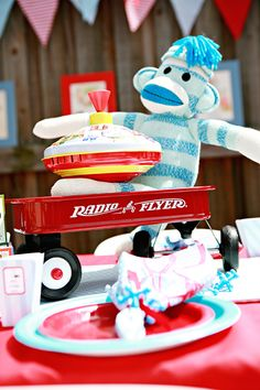 "Vintage Toy / Birthday ""Retro Toy Party"""