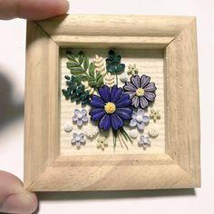 こちらはすでにお迎えが決まり、完売したのですが紹介してなかったので(๑•᎑•๑)♬*゜ #paper #paperart #papercraft #paperquiling #paperflowers #purple #クイリング #紫の花 #紫の花が好き #ペーパーフラワー #flowers #紙の花 #小さな花