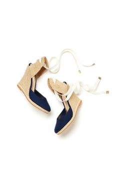 Lilly Pulitzer Kate Espadrille Wedge in True Navy