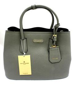 211cd63841 Borsa Donna Ecopelle Woman Bag David Jones Art CM2510 9 varianti colore  Grigio