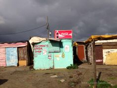 Shanty town in Cape Town Cape Town Photography, Butterfly Painting, Slums, My Town, South Africa, Around The Worlds, Outdoor Decor, Image, Watercolours