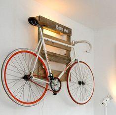 Merveilleux 10 Interesting DIY Bike Storage Ideas Bike Rack Indoor Display Stand Hook  Cool Pallet Pallets Pallet
