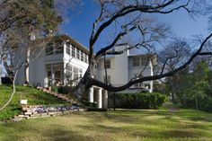 O'Neil Ford Designed Early Texas Modern Home, Turtle Creek Park, Dallas, 1930s
