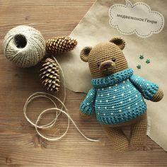 Irresistible Crochet a Doll Ideas. Radiant Crochet a Doll Ideas. Crochet Diy, Crochet Amigurumi, Crochet For Boys, Crochet Bear, Amigurumi Doll, Crochet Gifts, Crochet Dolls, Easy Crochet Projects, Diy Laine