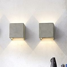 Castle LED Square Wall Sconce by Seed Design at Lumens.com