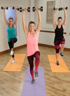 A 20-minute metabolism-boosting workout that keeps your heart rate up to burn calories while building lean muscle.