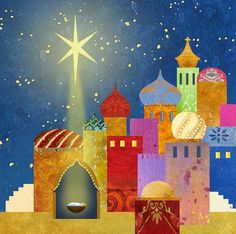 Album 2 « Gallery 14 « Christmas (by category) « Jan Pashley – Illustration / Design Christmas Nativity Scene, Christmas Art, Vintage Christmas, Christmas Decorations, Nativity Scenes, Christmas Drawing, Christmas Paintings, Church Banners, Mobile Art