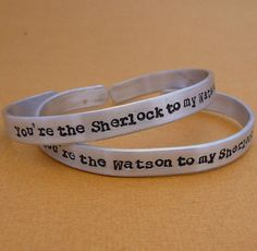 Sherlock and Watson Friendship Bracelets ($34)