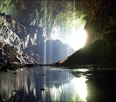Deer Cave in Mulu National Park in Malaysia's Sarawak State