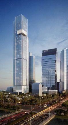 JAKARTA   Thamrin Nine Tower 1   330m   1083ft   71 fl   U/C - SkyscraperCity