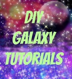My Life on the Divide: Best of Galaxy Tutorials