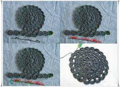 Kürk Yakalı Örgü Yelek Modeli Resimli Anlatımı 2 Crochet Patterns For Beginners, Easy Crochet Patterns, Knitting For Beginners, Crochet Patterns Amigurumi, Crochet Motif, Crochet Baby, Knitting Blogs, Knitting Designs, Knitting Patterns