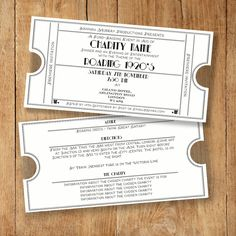 Great classic invite for a fund-raising event or party. Perfect for art-deco/ 1920's / Great Gatsby / Orient Express themed events! Also comes with an info card. https://www.etsy.com/listing/222492999/classic-fund-raising-eventparty-invite?ref=shop_home_active_8