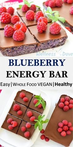 An energy bar that is actually very good for you. Practically whole food and with no heavily processed ingredients, this energy bar uses the delicious taste of nuts, dates and berries to give you energy, health and joy. Healthy Vegan Desserts, Vegan Treats, Vegan Snacks, Vegan Recipes, Healthy Snacks, Stay Healthy, Vegan Food, Protein Snacks, Healthy Protein