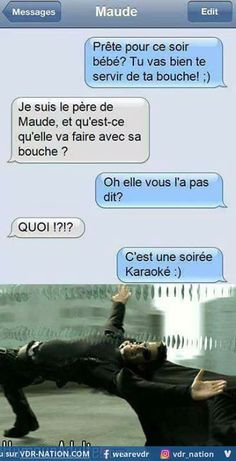 Maude et le karaoke Funny Sms, Funny Jokes, Hilarious, Quick Jokes, Funny Images, Funny Pictures, Rage, Sms Jokes, Lol