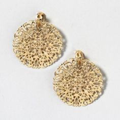 Clip on earrings which look quite nice.