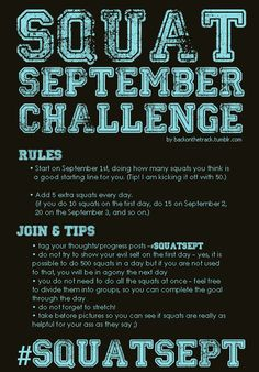 doing this ;)... It's day 9 but why not try the rest of the month.