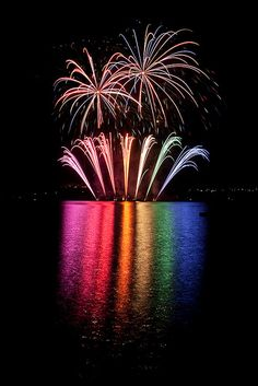 Rainbow Fireworks - Life with Alyda Best Fireworks, 4th Of July Fireworks, Expo 67 Montreal, Fire Works, Bonfire Night, Over The Rainbow, Of Wallpaper, Rainbow Colors, Rainbow Things