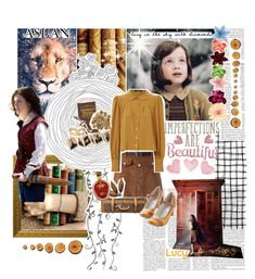 """Lucy Pevensie 💛💛💛"" by krgood7 ❤ liked on Polyvore featuring Lanvin, Chicwish, Jane Norman, Louis Vuitton, Zephyr, Chelsea Crew and Shabby Chic"