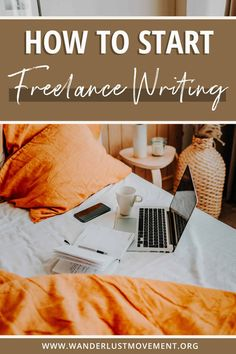 Start freelance writing and travel the world! Here's exactly how to start freelance writing for beginners. From finding your niche, establishing yourself as an expert and finding freelance writing jobs - this guide has it all! You can use your business to work from home, travel full-time or a side hustle for extra income - it's totally up to you! #freelancewriting #sidehustle #remotework #workfromhome #locationindependent #digitalnomad  via @wanderlustmvmnt Freelance Writing Jobs, Digital Nomad, Online Business, Finding Yourself