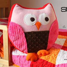 owl pillow (Make it and Love it)