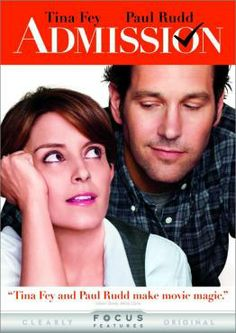 Admission, Movie on DVD, Comedy