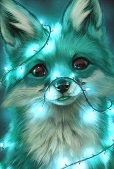 Baby Animals Super Cute, Cute Wild Animals, Cute Cartoon Animals, Anime Animals, Cute Fox Drawing, Cute Animal Drawings Kawaii, Cute Drawings, Cute Galaxy Wallpaper, Cute Disney Wallpaper