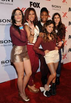 Fifth Harmony at Finalist Party :)