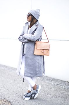 Outfit | Joshua Sanders Bow Sneakers