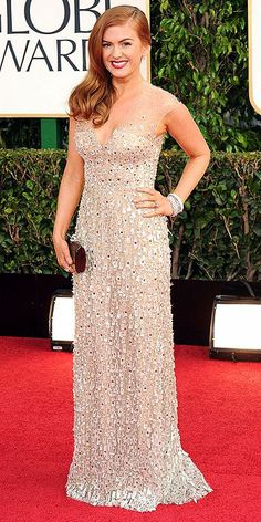 Isla Fisher definitely rocked it in this amazing dress!
