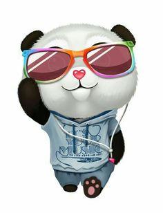 cute Panda Funny, Cartoon Panda, Cute Panda Wallpaper, Bear Wallpaper, Panda Wallpapers, Cute Cartoon Wallpapers, Image Panda, Animals And Pets, Cute Animals