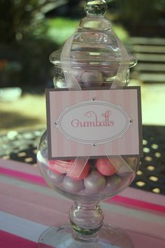 Fancy Labels for dessert tables, candy buffet, or place cards in color of choice. $12.30, via Etsy.
