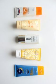 A Facial SPF For Every Skin Type and Budget | The Sunday Girl | Bloglovin'