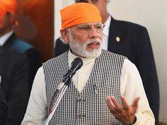 Slideshow : PM Modi starts Iran visit with a trip to a Gurdwara - Prime Minister Narendra Modi's maiden visit to Iran - The Economic Times
