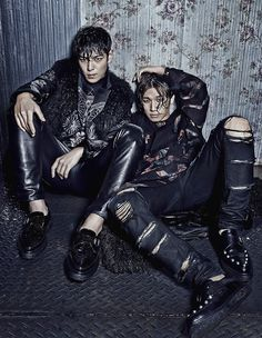 BIGBANG T.O.P & DAESUNG - W Korea Magazine November Issue '14