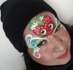 Face Painting Images, Face Painting Flowers, Girl Face Painting, Face Painting Designs, Painting For Kids, Body Painting, Face Paintings, Paint Designs, Shopkins Face