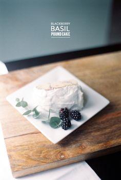 Blackberry basil pound cake: Photography: Lisa Dolan - http://www.lisadolanphotography.com/