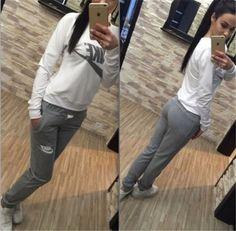 Womens-New-Fashion-Sports-Crop-Top-Pants-Leisure-Athletic-Apparel-suit-Bodysuit