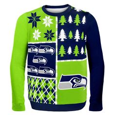 Buy Philadelphia Eagles Midnight Green Busy Block Ugly Sweater from the official online store of the Philadelphia Eagles! Eagles Fans Buy Philadelphia Eagles Midnight Green Busy Block Ugly Sweater and support Eagles Football. Dallas Cowboys Ugly Sweater, Nfl Dallas Cowboys, Nfl Football, Dallas Sports, Detroit Sports, Vikings Football, Alabama Football, Football Season, Ugly Sweater Party