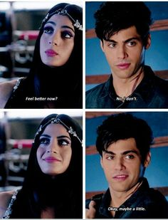 "#Shadowhunters 1x04 ""Raising Hell"" - Izzy and Alec"