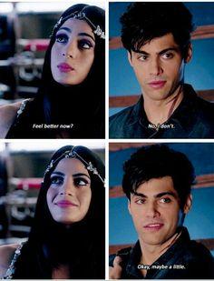 "#Shadowhunters 1x04 ""Raising Hell"" - Izzy and Alec"