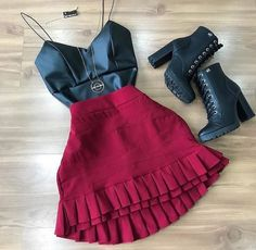 42 New Ideas Moda Casual Outfits Real Women Gothic Fashion, Look Fashion, Winter Fashion, Fashion Outfits, Womens Fashion, Summer Outfits, Casual Outfits, Cute Outfits, Trendy Dresses