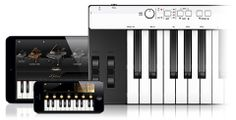 Write music no matter where you are with iRig KEYS. This keyboard connects to your iPhone, iPad, or Mac so you can record on the go. It includes 37 velocity-sensitive full-sized keys and is packed with features like modulation and pitch bend wheels as well as access to free apps.