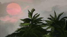 Sun Tropical Palm Breeze by AnthonyFishburne