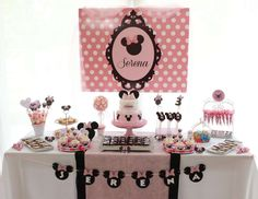"Minnie Mouse / Birthday ""Dreaming Minnie Mouse"" 