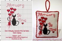 February Be Mine Mini Cat (chat)
