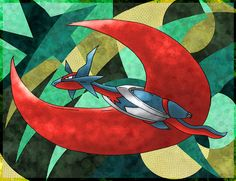 Vuela Vuela by Macuarrorro.deviantart.com on @DeviantArt. #Pokemon #MegaSalamence #fanart