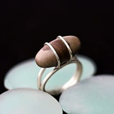 Shiva Lingam Sterling Silver Ring by TownHallStudio on Etsy
