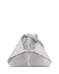 49890004da19 Ai Medium Embossed Shoulder Bag